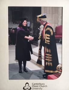 nicola smuts allsop awarded masters degree archbishop of canterbury
